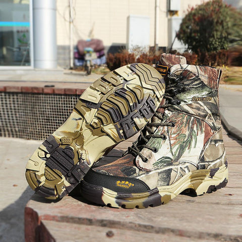Hiking Shoes Waterproof Tactical-Men-Weekly Top Deal