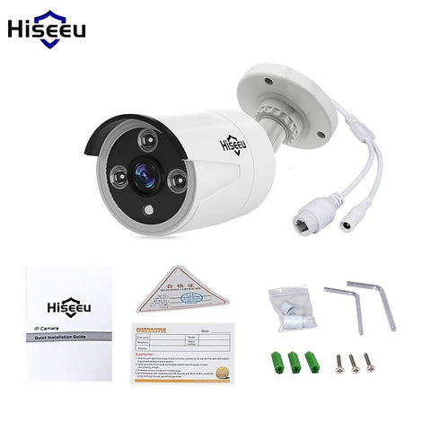 Hiseeu® HD POE 1080P 2.0MP IP Camera Mini Waterproof Outdoor Network Camera IP Camera-Electronic-Weekly Top Deal
