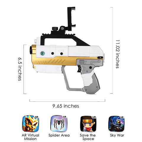 Homkey AR - 82 Bluetooth 4.2 Game Pistol Gun-Kids, Toys & Baby-Weekly Top Deal
