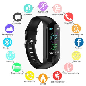 Indear Y10 Smart Bracelet Smartwatch Android iOS Bluetooth-Electronic-Weekly Top Deal