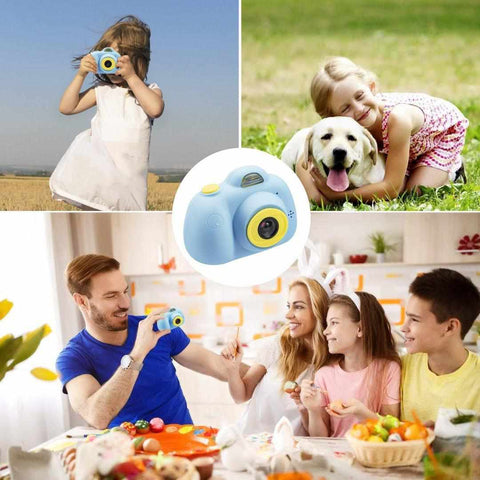 KIDS CAMERA 3MP 1080P HD MINI CHILDREN CAMERA WITH SELFIE TIMER (WITHOUT SD CARD)-Kids, Toys & Baby-Weekly Top Deal
