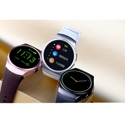 KW18 Smart Watch Bluetooth Fitness Tracker Support-Electronic-Weekly Top Deal