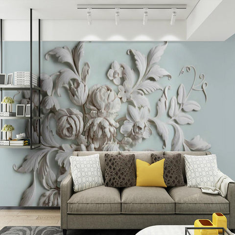 Large Floral Removable Peel and Stick Wallpaper-Home Collection-Weekly Top Deal