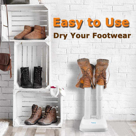 LAVIEAIR Shoe Dryer, Boot Deodorizer, Ultra Quiet, White Color-Home Collection-Weekly Top Deal