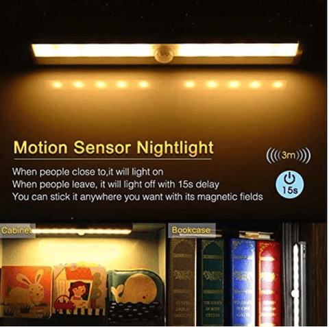 LED MOTION SENSOR WALL OUTLET LIGHT-Electronic-Weekly Top Deal