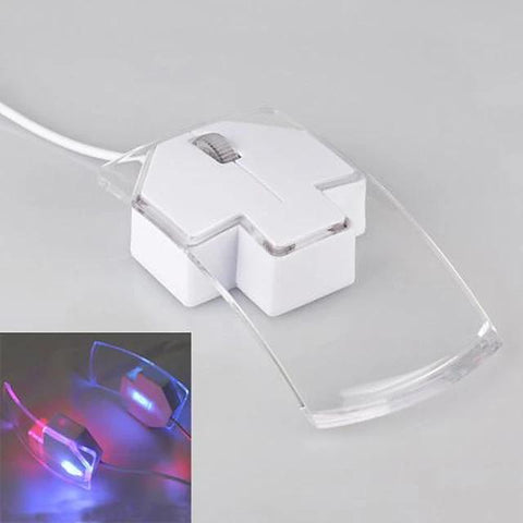 LITBest NHWR06 Wired USB Optical Office Mouse Led Light 1200 dpi 3 pcs Keys-Electronic-Weekly Top Deal
