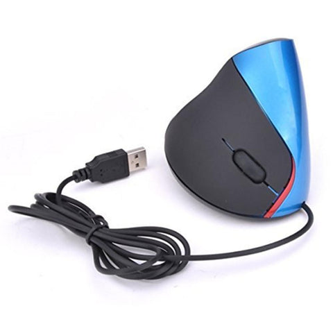 LITBest T90 Wired USB Optical Vertical Mouse 1000 dpi 5 pcs Keys-Electronic-Weekly Top Deal