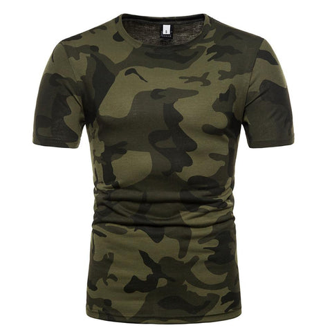 Men's Daily Casual Basic Cotton Slim T-shirt-Men-Weekly Top Deal