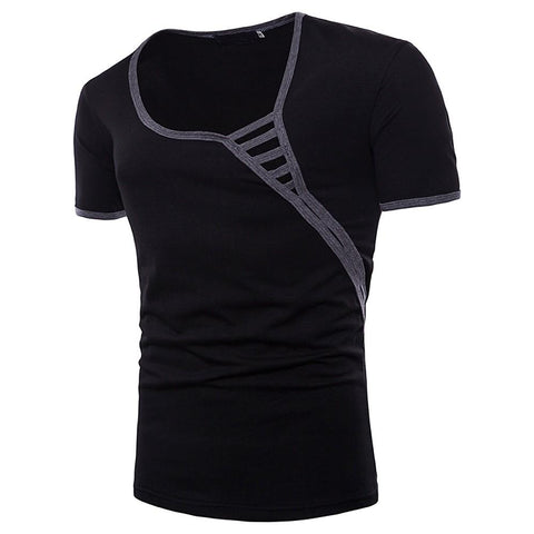 Men's Daily Holiday Basic / Street chic T-shirt-Men-Weekly Top Deal