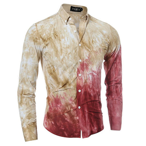 Men's Daily Shirt - Color Block Blushing Pink-Men-Weekly Top Deal