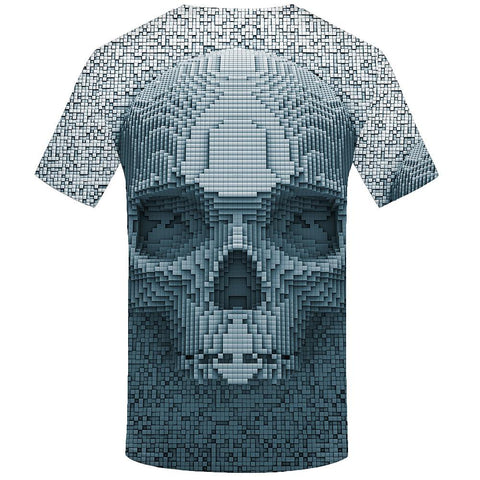 Men's Daily Wear Basic T-shirt - 3D Print White-Men-Weekly Top Deal