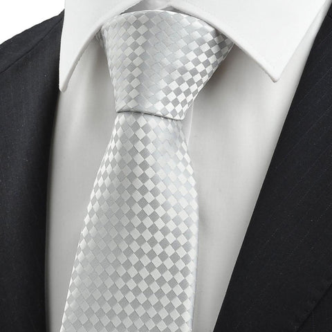 Men's Party / Work / Basic Necktie - Check-Men-Weekly Top Deal