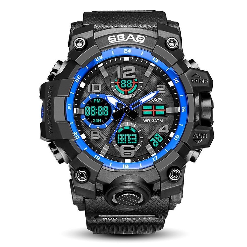 Men's Sport Watch Digital WatchDigital Quilted-Electronic-Weekly Top Deal