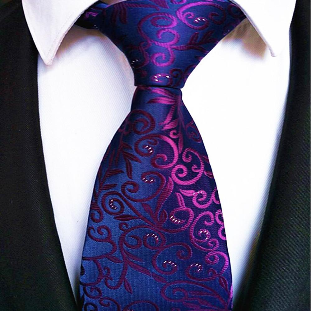 Men's Stripes Necktie - Striped-Men-Weekly Top Deal