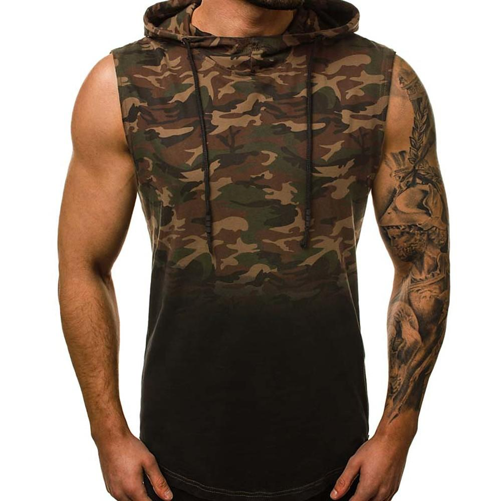 Men's T-shirt - Camo / Camouflage Round Neck-Men-Weekly Top Deal