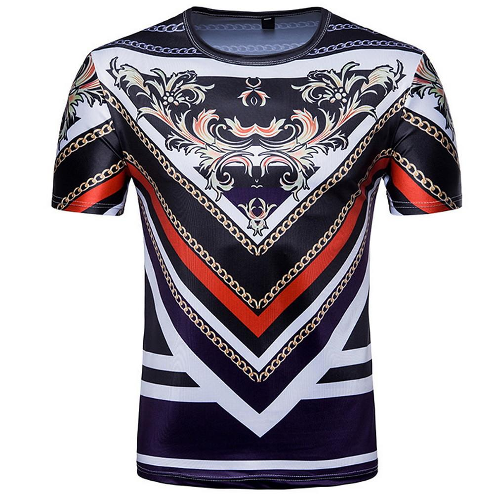 Men's T-shirt - Tribal Round Neck-Men-Weekly Top Deal