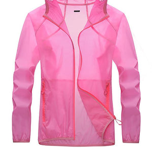 Men's Women's Solid Color Hiking Skin Jacket-Outdoor Gear-Weekly Top Deal