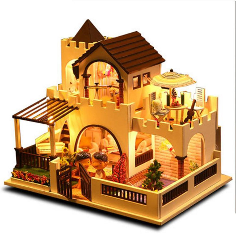 Model Building Kit DIY Castle Furniture House-Kids, Toys & Baby-Weekly Top Deal