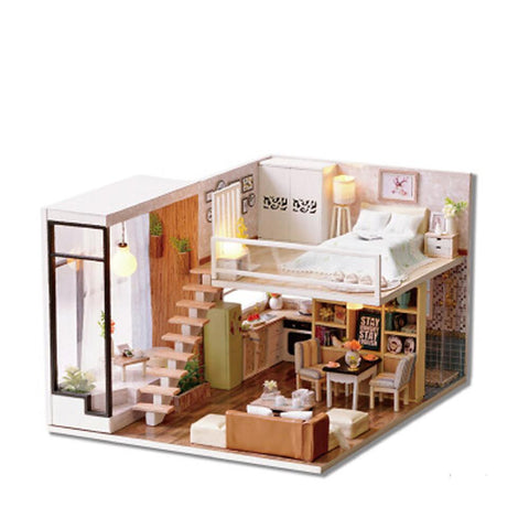 Model Building Kit DIY Furniture House Wooden-Kids, Toys & Baby-Weekly Top Deal