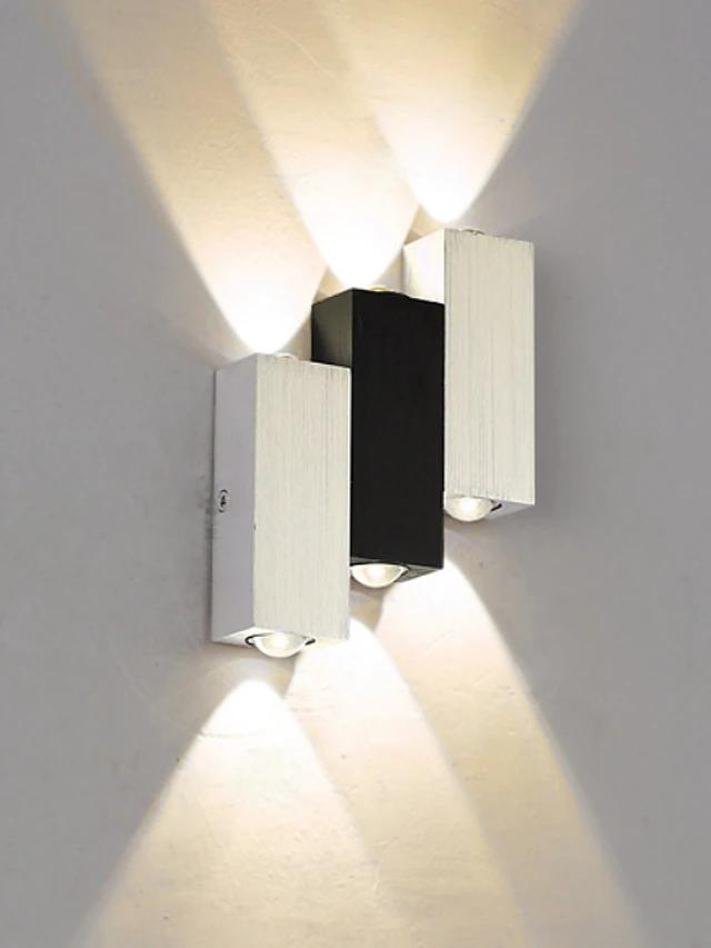 New Design Modern Contemporary Wall Lamps & Sconces Indoor Metal Wall Light 85-265V 6 W-Home Collection-Weekly Top Deal