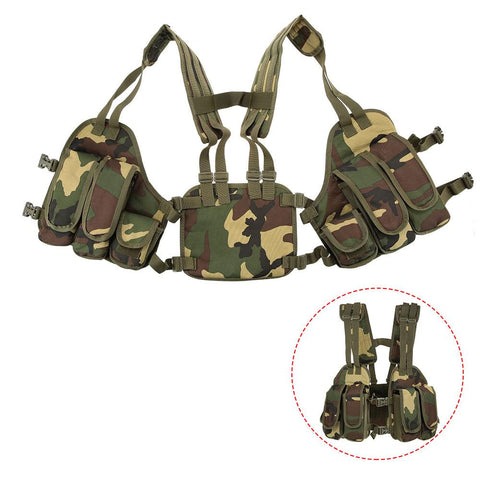 Outdoor Tactical Chest Rig Modular-Outdoor Gear-Weekly Top Deal