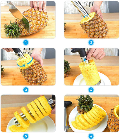 Pineapple Peeler Corer Easy Slicer Cutter Manual Fnife Kitchen Gadgets-Home Collection-Weekly Top Deal