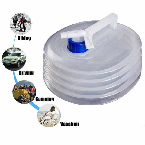 Portable Collapsible Water Bucket-Outdoor Gear-Weekly Top Deal