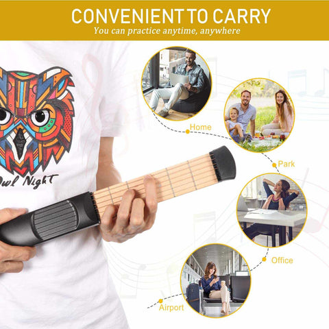 PORTABLE POCKET GUITAR-Gift & Accessories-Weekly Top Deal