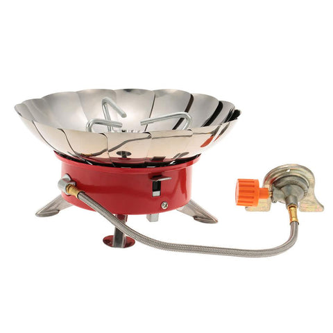 Portable Retracted Windproof Camping Backpacking Gas Stove-Outdoor Gear-Weekly Top Deal