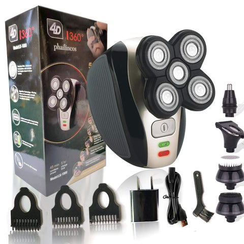 Premium 4D Electric Shaver-Beauty & Health-Weekly Top Deal