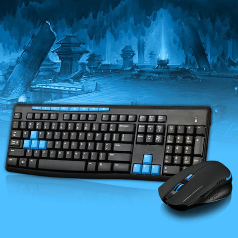 Qisan x1000 Wireless 2.4G Gaming Keyboard and Mouse Kit-Electronic-Weekly Top Deal