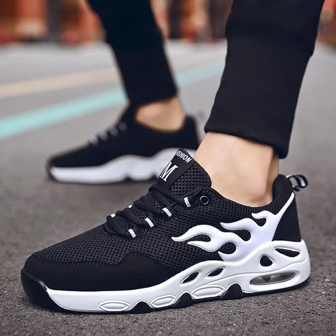 Running Sneakers Hiking Shoes Lightweight Breathable Comfortable Team Sports-Men-Weekly Top Deal