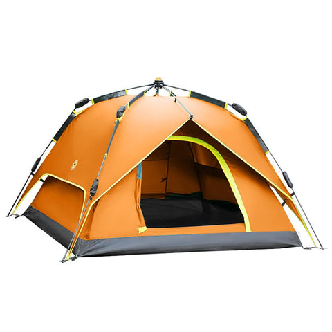 Shamocamel® 4 person Automatic Tent Outdoor Waterproof Windproof Double Layered Automatic Dome Camping Tent-Outdoor Gear-Weekly Top Deal