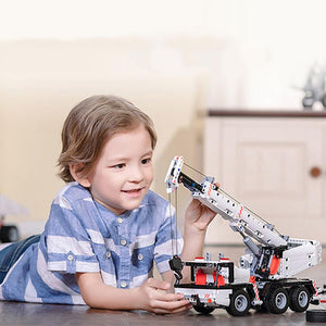 Smart MITU Building Block Engineering Crane for Gift APP Control-Kids, Toys & Baby-Weekly Top Deal