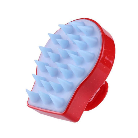 Spa Slimming Massage Brush Silicone Head Body Shampoo Scalp Massage-Beauty & Health-Weekly Top Deal