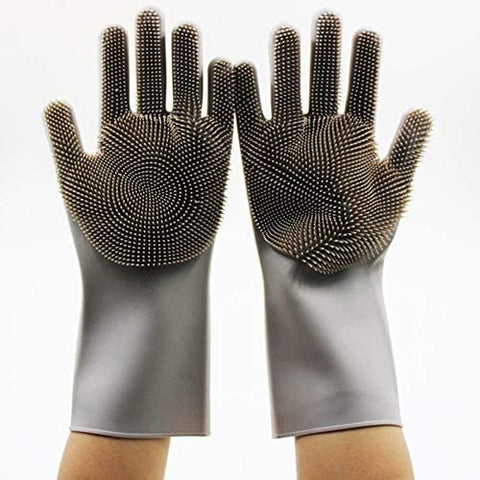"Sponge Gloves 1 Pair (13.6"" Large)-Home Collection-Weekly Top Deal"