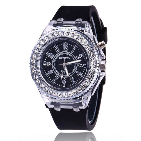 Sport Watch Diamond Watch Quartz Silicone-Electronic-Weekly Top Deal