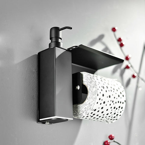 Stainless steel soap dispenser hand Liquid Soap Dispenser squeeze wall-mounted-Home Collection-Weekly Top Deal