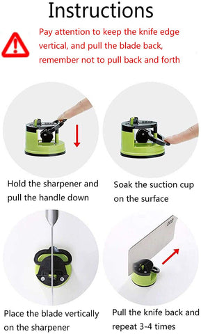 Suction Blade Sharpener-Home Collection-Weekly Top Deal