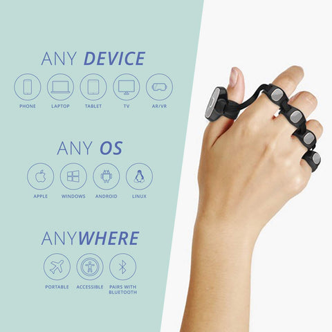 TAP STRAP 2: All-in-1 Wearable Keyboard, Mouse & Controller-Electronic-Weekly Top Deal