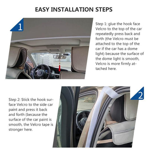 Taxi Transparent Anti-Droplet Car Isolation Surround Protective Cover Curtain-Outdoor Gear-Weekly Top Deal