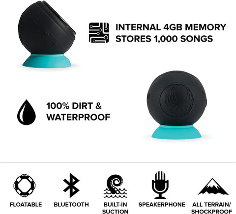 The Barnacle PRO 100% Waterproof Bluetooth Speaker-Electronic-Weekly Top Deal