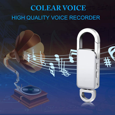 Voice Recorder, 16GB USB Audio, Rechargeable Metal Casing Digital-Electronic-Weekly Top Deal