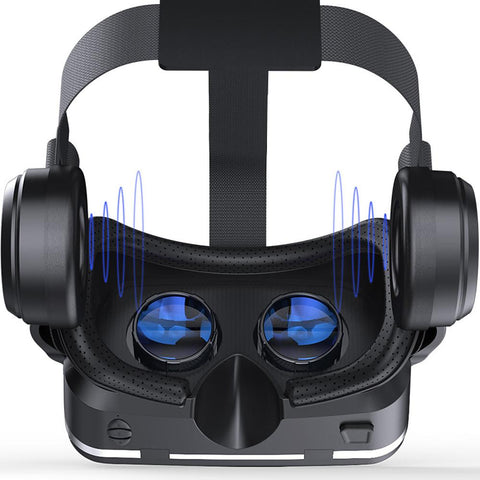 Vritual Reality Shinecon 6.0 Bluetooth Headset VR Glasses Helmet 3D Box for 4.7-6.0 Smartphones-electronic-Weekly Top Deal