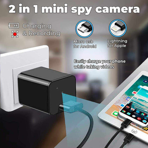 Wall Charger Video Camera-Electronic-Weekly Top Deal