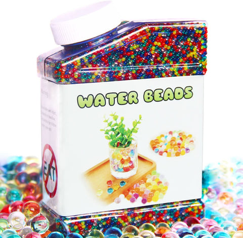 Water Beads Pack Rainbow Mix Over 50,000 Beads Growing Balls, Jelly Water Gel Beads-Kids, Toys & Baby-Weekly Top Deal