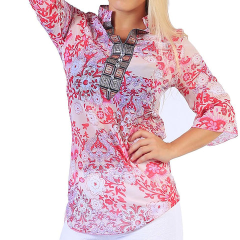 Women's Blouse - Floral / Graphic-Women-Weekly Top Deal