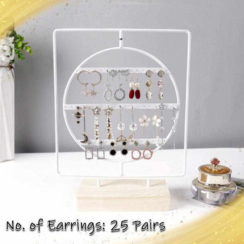Wooden Earring Display Stand-Home Collection-Weekly Top Deal