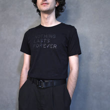 Load image into Gallery viewer, NLF STANDARD BLACK COTTON TEE