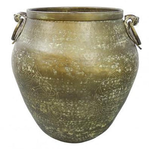 Antique Gold Decorative Pot